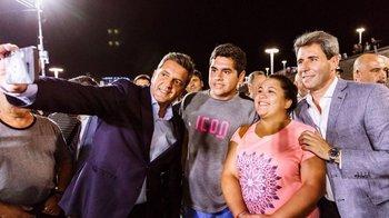 Massa visitó San Juan y mostró buena sintonía con Uñac  | San juan