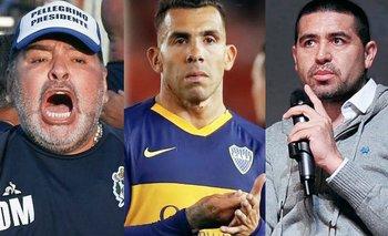 Tevez jugó fuerte y se puso del lado de Maradona | Boca juniors