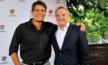 Guillermo Andino presentó el panel de su nuevo programa   Televisión