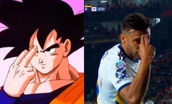 Los memes por el festejo de 'Toto' Salvio ante Colón | Boca juniors