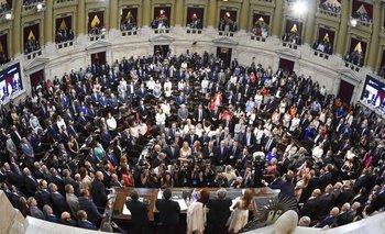 Un Congreso caliente y polarizado recibe a Alberto Fernández | Asamblea legislativa