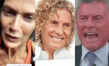 Con memes comparan el rostro de Maru Botana y de Macri | Maru botana
