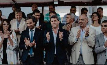 Cafiero y Bielsa inauguraron obras en San Juan con Uñac | Santiago cafiero