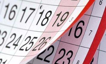 Calendario 2021: ¿cuándo es el próximo feriado en Argentina? | Feriados