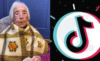 Tik Tok: la señora de 110 años que se hizo famosa por la aplicación | En redes