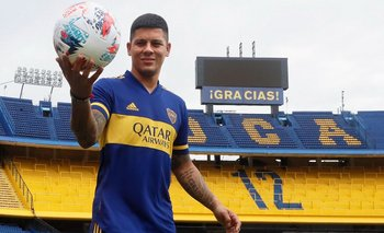 Marcos Rojo se lesionó en su primer entrenamiento con Boca | Boca juniors