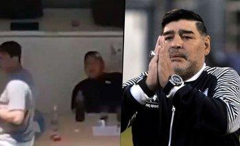 Filtran escandalosos audios que complican al entorno de Maradona | Diego maradona