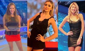De qué cuadro son Morena Beltrán, Luciana Rubinska y Alina Moine | Periodistas