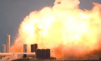 Video: impactante explosión de otro cohete de SpaceX   Estados unidos