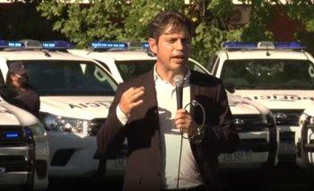 Kicillof entregó patrulleros a Escobar y ya son el doble de los que dio Vidal | Seguridad