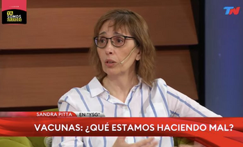 Las delirantes teorías de Sandra Pitta sobre las vacunas | Coronavirus en argentina