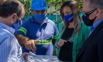 Galmarini y Descalzo inauguraron una red de agua potable en Ituzaingó | Provincia