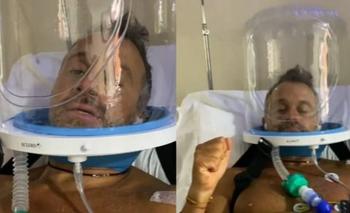 El desgarrador video de Sergio Lapegüe en terapia intensiva | Sergio lapegue