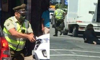 Conmoción en Chile: un carabinero asesinó a un malabarista callejero | Violencia institucional