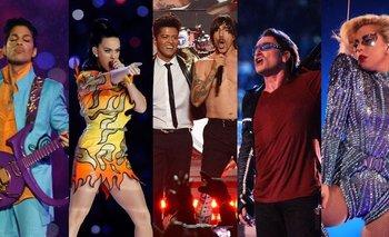 Los cinco recitales más impactantes en la historia del SuperBowl  | Superbowl