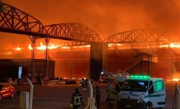 Voraz incendio en el autódromo de las Termas de Río Hondo | Santiago del estero