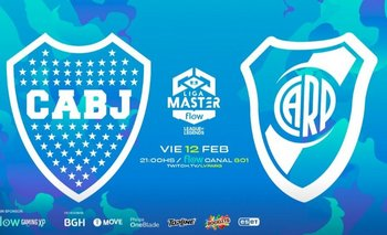 Liga Master Flow: el primer Boca-River de los eSports | Gaming