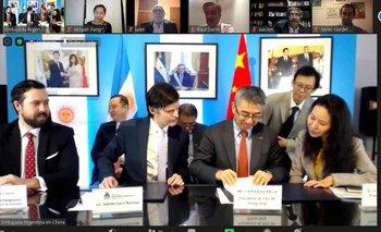 Acuerdo clave entre el Banco Nación y un gigante de China | Argentina-china