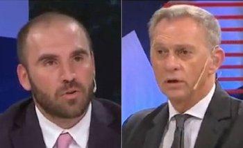 La pregunta de Guzman sobre Macri y el FMI que enmudeció a Bonelli | Martín guzmán