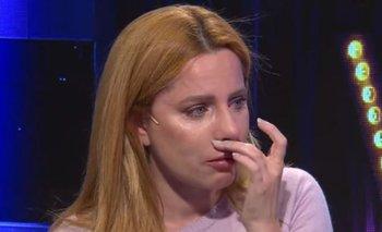 El mal momento de Agustina Kämpfer: se quebró en llanto al aire | Televisión