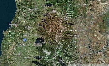 Un sismo en Chile hizo temblar Bariloche y San Martín de los Andes | Fenómenos naturales