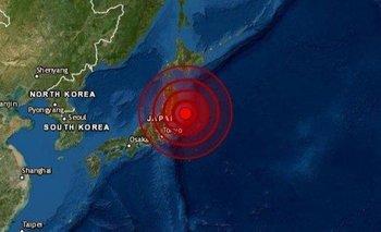 Un fuerte terremoto sacudió a Japón  | Terremoto