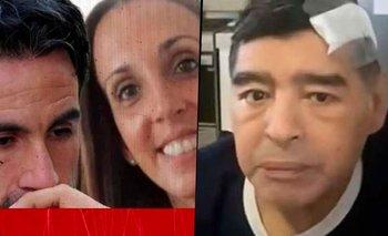 El macabro mensaje que deja al descubierto a los médicos de Maradona | Diego maradona