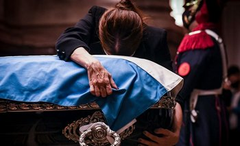 Finalizó el funeral de Carlos Menem en el Senado | Murió carlos menem