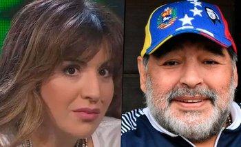 Gianinna Maradona y un explosivo mensaje contra los periodistas | Diego maradona