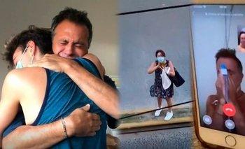 Sergio Lapegüe dedicó un emotivo mensaje tras recuperarse del coronavirus | En redes
