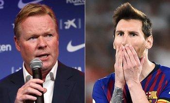 Messi y Barcelona: Koeman dejó una frase misteriosa sobre el futuro de La Pulga | Champions league