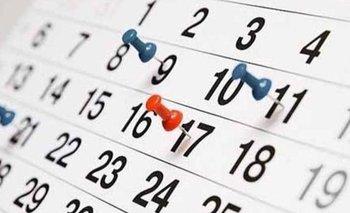 Los fines de semana largo que quedan en el 2021 | Calendario de feriados