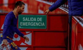 ¿Messi se va del Barcelona? Los medios españoles estallaron tras la derrota | Champions league