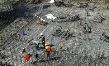 La construcción creció en febrero 22,7% respecto de igual mes de 2020 | Reactivación económica