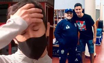 River: Nacho Fernández quebró en llanto al recordar a Diego Maradona | Televisión