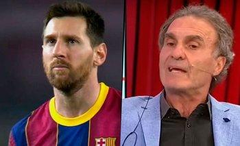 "Ruggeri explotó contra el momento de Messi en Barcelona: ""¿Qué esperás?""   Espn"