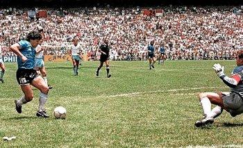 Revelan imagen inéditas del gol de Maradona a los ingleses | Diego armando maradona