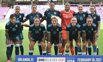 Selección Argentina Femenina: debut con derrota ante Brasil en Estados Unidos | Fútbol femenino