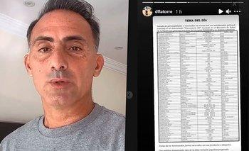 Vacunas VIP: la sorpresiva revelación de Diego Latorre  | Instagram
