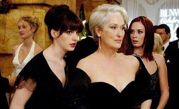 La revelación de Anne Hathaway sobre El diablo viste a la moda   Cine