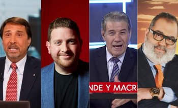 Rating: Así les fue a Feinmann y Viale en su debut de LN+ | Rating