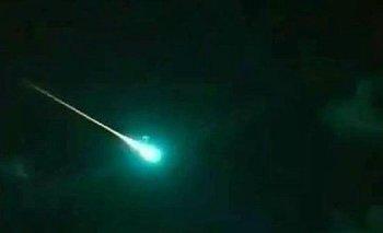 Meteorito atravesó el cielo de San Juan y pudo verse en Mendoza y Chile | Espacio exterior