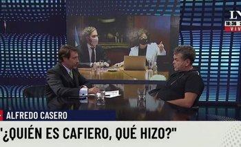 Alfredo Casero reapareció en LN+ e invitó a hacer una revolución   Alfredo casero