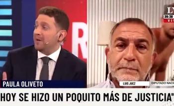 Insólito blooper de Luis Juez en una entrevista con Jonatan Viale | Televisión