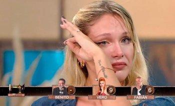 El desconsolado llanto de Barbie Veléz en Corte y Confección Famosos   Corte y confección