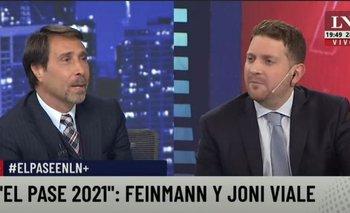 El ataque de Feinmann y Jonatan Viale en el pase de LN+ | Televisión
