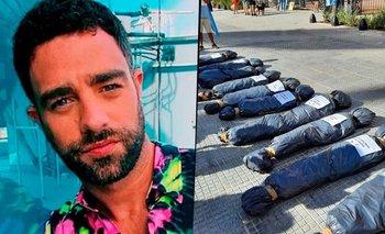 Diego Poggi defendió las bolsas mortuorias y fue destrozado en redes | Tn