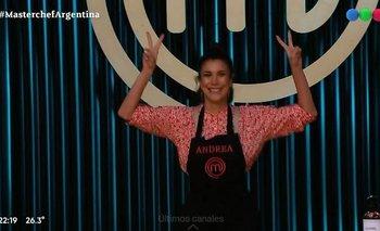 Masterchef: el saludo peronista de Andrea Rincón que fue furor en redes | Andrea rincón