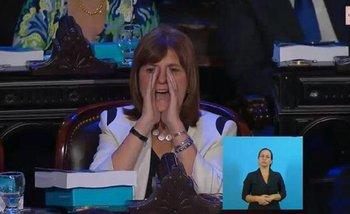 Bullrich reveló qué le gritó a Cristina desde su butaca | Cristina kirchner