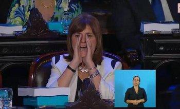 Bullrich reveló qué le gritó a Cristina desde su butaca   Cristina kirchner